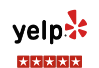 Yelp reviews - 5 stars
