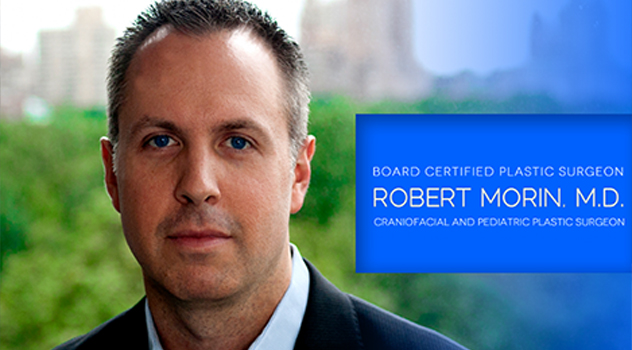 Board certified plastic surgeon Robert Morin. M.D.