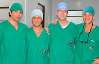 Surgical Mission: Dr. Morin and other doctors